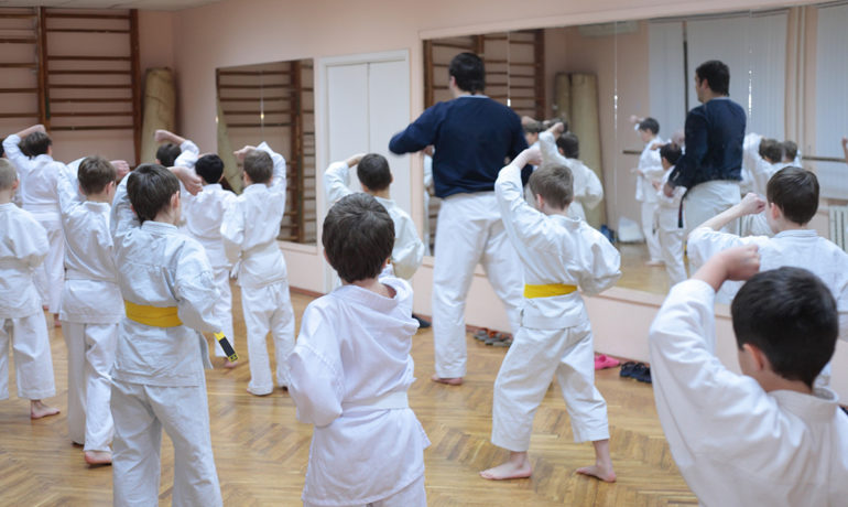 Empty Your Pockets: Leaving Troubles Outside the Dojang
